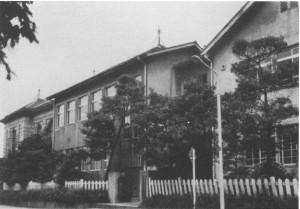 上野の増築となった養成所時代の校舎